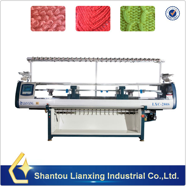 Double Carriages Knitting Machine